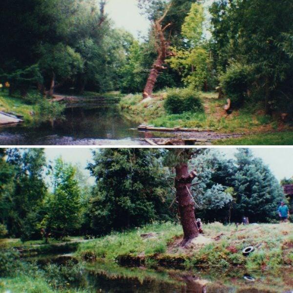 Old river scenes