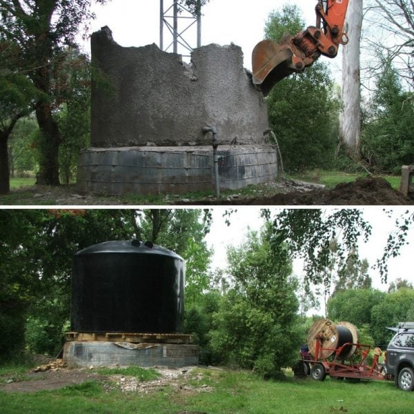Water Tank Replacement